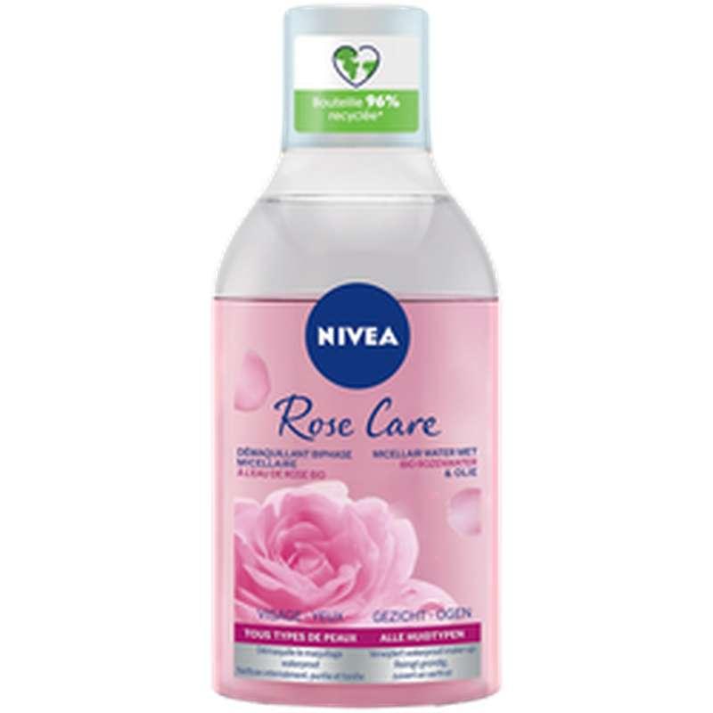 Eau micellaire rose, Nivea (400 ml)