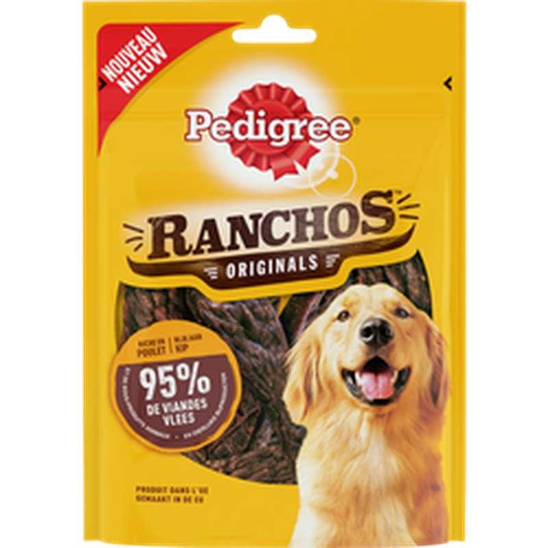Récompense pour chien Ranchos originals au poulet, Pedigree (70 g)