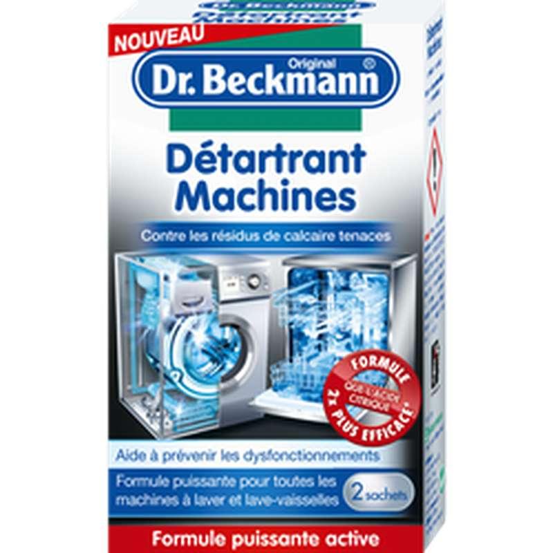 Détartrant machines en poudre, Dr Beckmann (2 x 50 g)