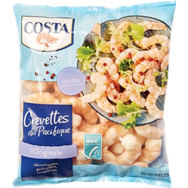 Crevettes du Pacifique décortiquées cuites, Costa (300 g)