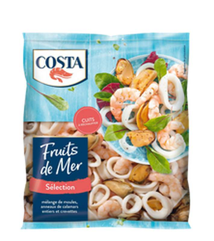 Mélange de fruits de mer, Costa (360 g)