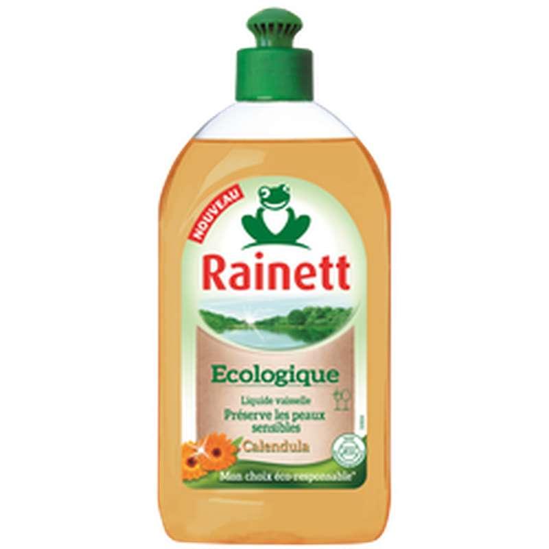 Liquide vaisselle écologique pour peaux sensibles Calendula, Rainett (500 ml)