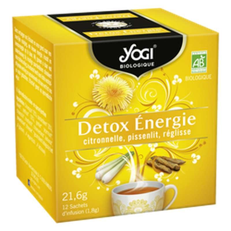 Infusion Detox Energie BIO, Yogi (x 12 sachets)