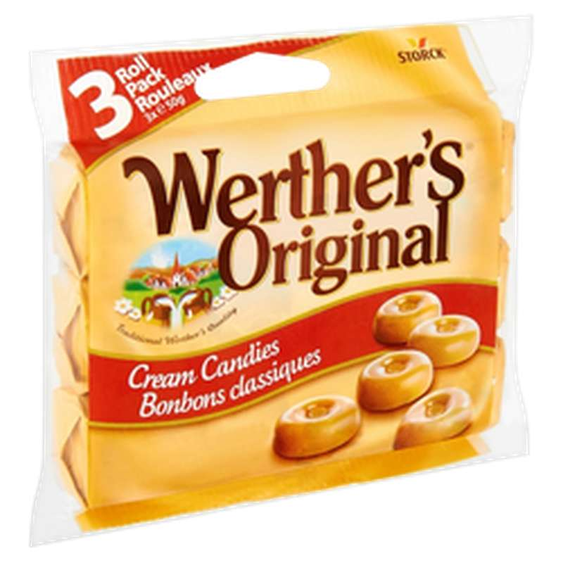 Caramel, Werther's original (3 x 50 g)