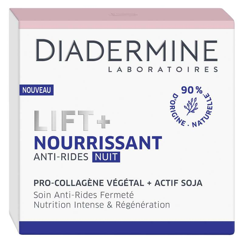 Crème visage nuit anti-rides, Diadermine (50 ml)