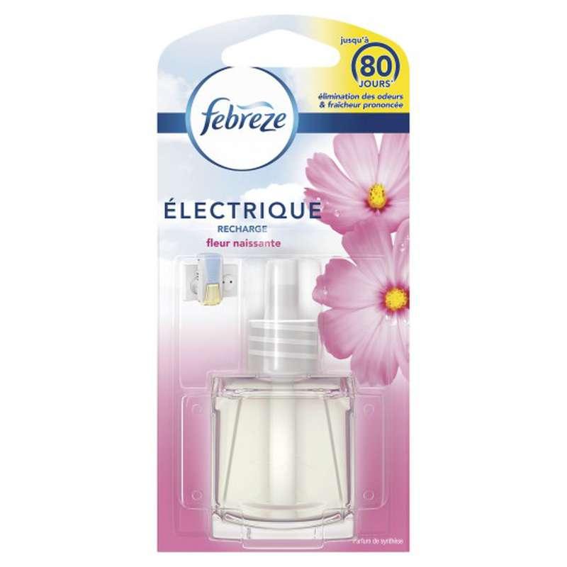 Recharge désodorisant diffuseur électrique fleur naissante, Febreze
