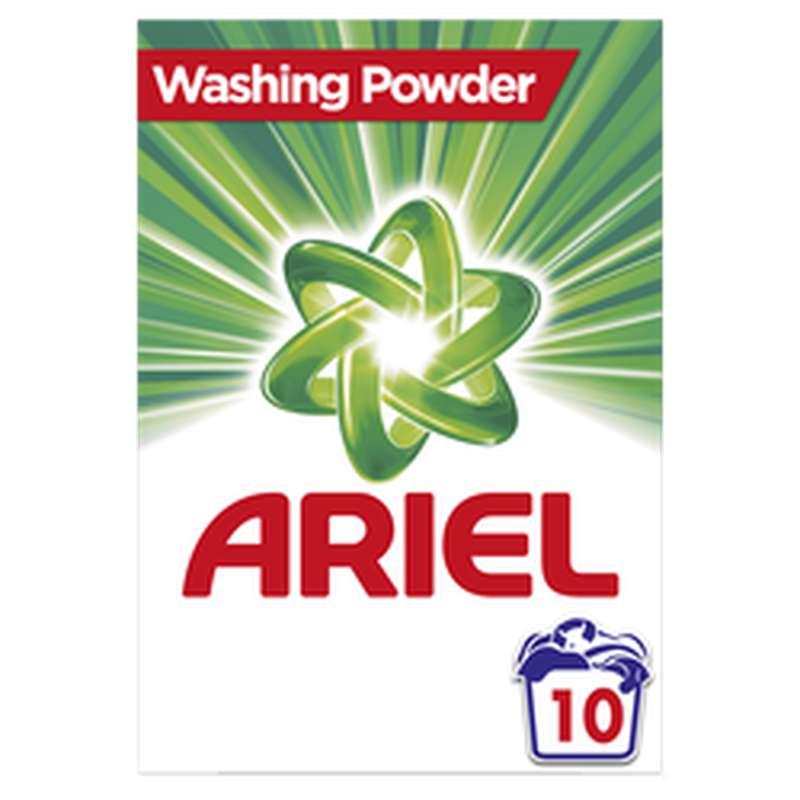 Lessive en poudre Regulier, Ariel (x 10 doses)
