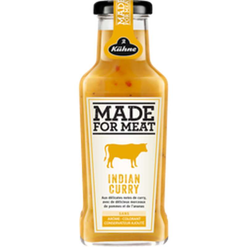 Sauce Made for Meat Indian Curry, Kuhne (235 ml)