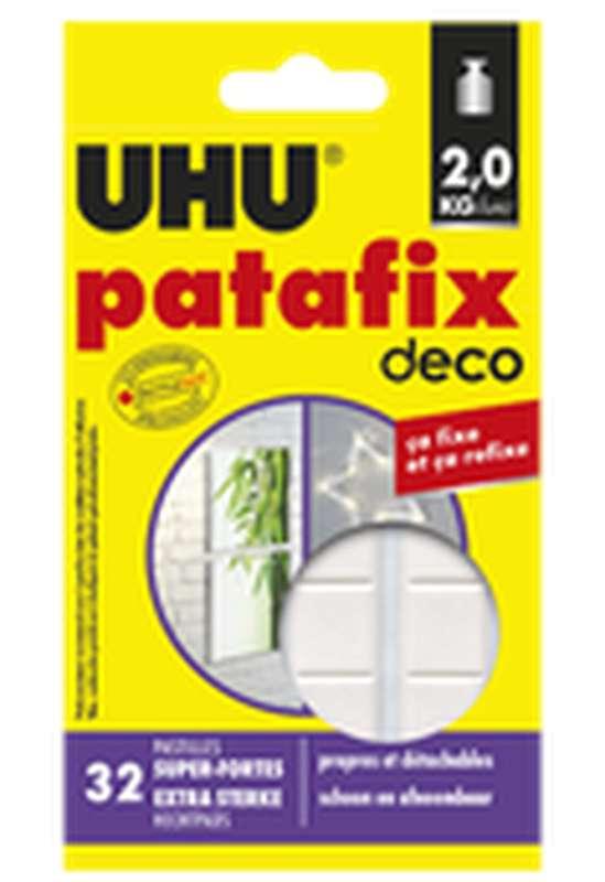 Pastilles de fixation HomeDéco Patafix, UHU (x 32 pastilles)