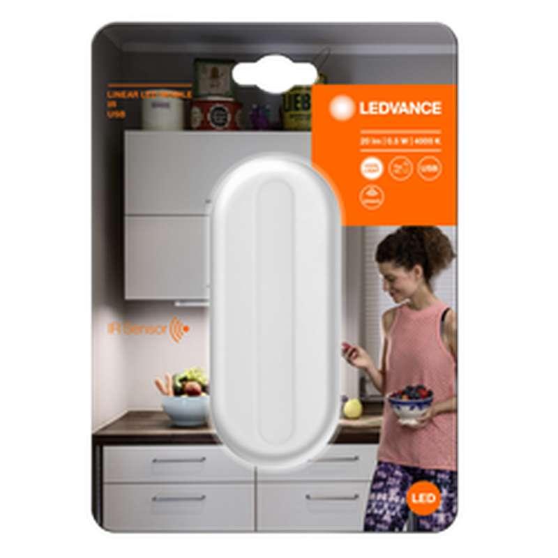 Luminaire pour tiroir ou armoire capteur infrarouge, Ledvance