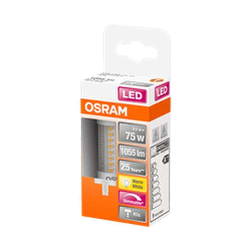 Ampoule tube LED 75W culot R7S - blanc chaud, Osram (x 1)