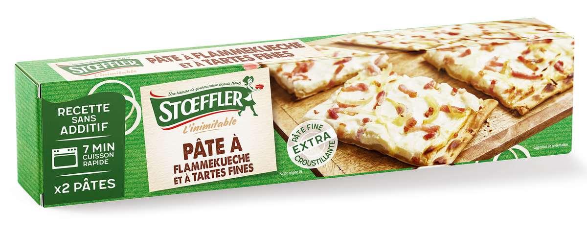 Pâte à flammekueche et tartes fines, Stoeffler (x 2, 320 g)
