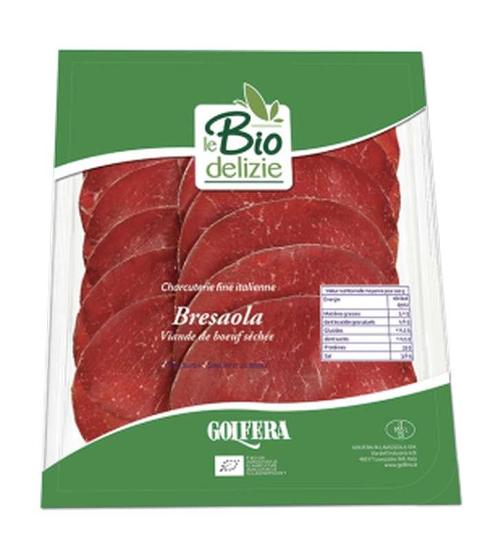 Bresaola de boeuf BIO, Le Biodelizie di Gol (80 g)