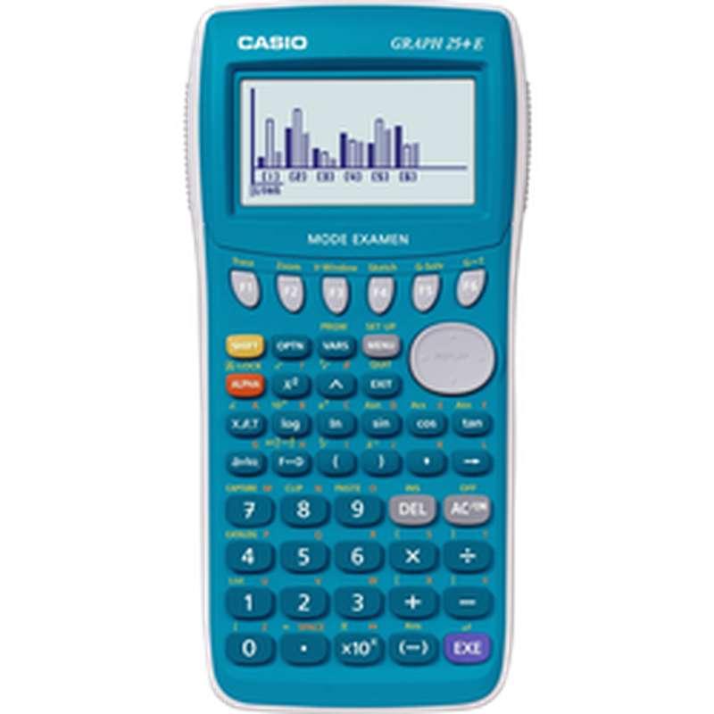 Calculatrice graphique 25+E, Casio (mode examen intégré)