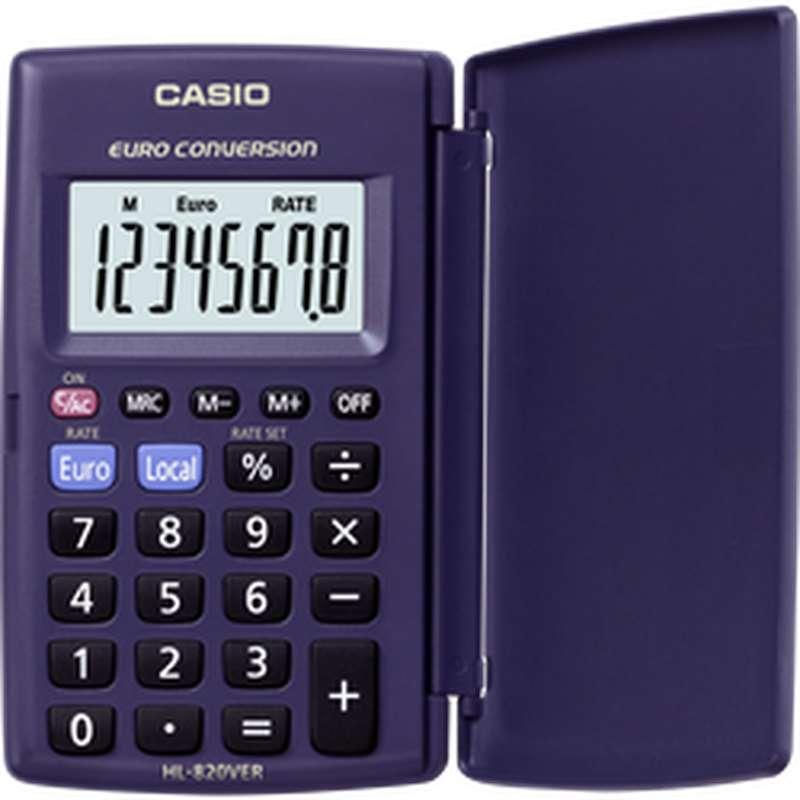 Calculatrice de poche HL820-Ver, Casio