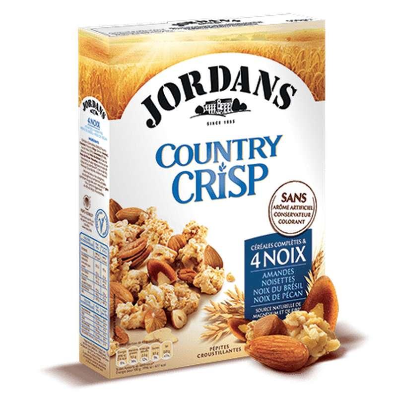 Country crisp aux 4 noix Jordans  (550 g)