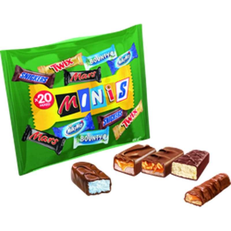 Minis Mix, Nestlé (x20, 400 g)