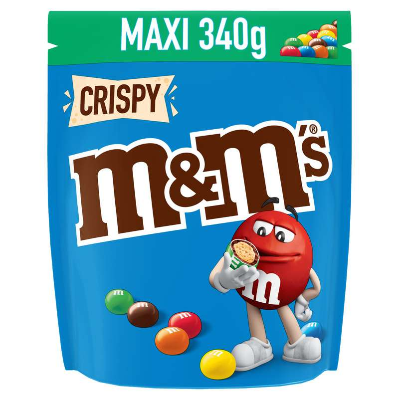 M&M's Crispy Maxi (340 g)