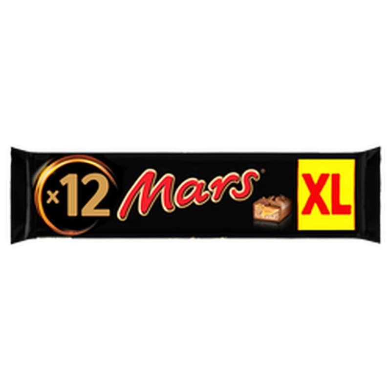Barres chocolatées Mars XL (12 x 45 g, soit 540 g)