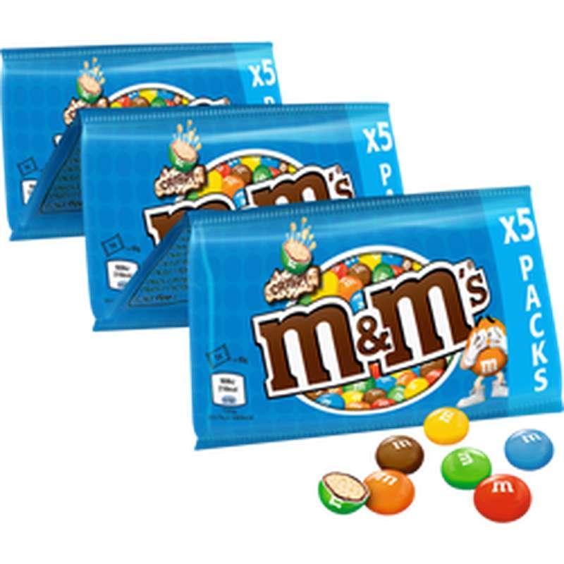 M&M's Crispy (x5, 180 g)