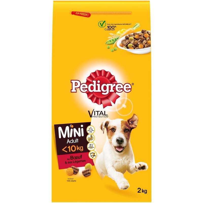 Croquettes pour chien mini, Pedigree (2 kg)