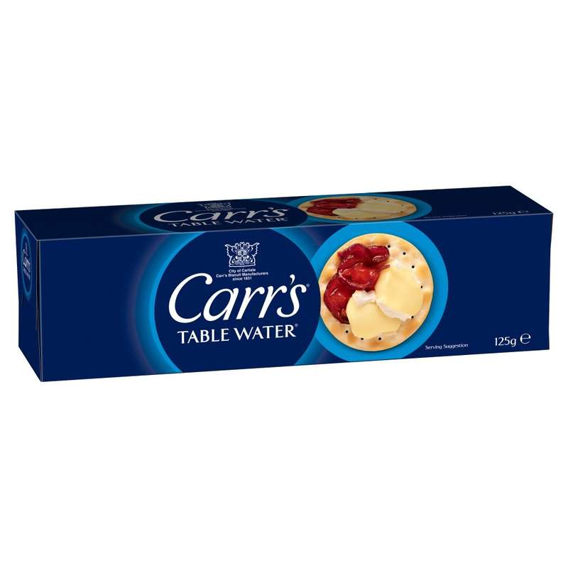 Biscuit Table Water, Carr's (125 g)