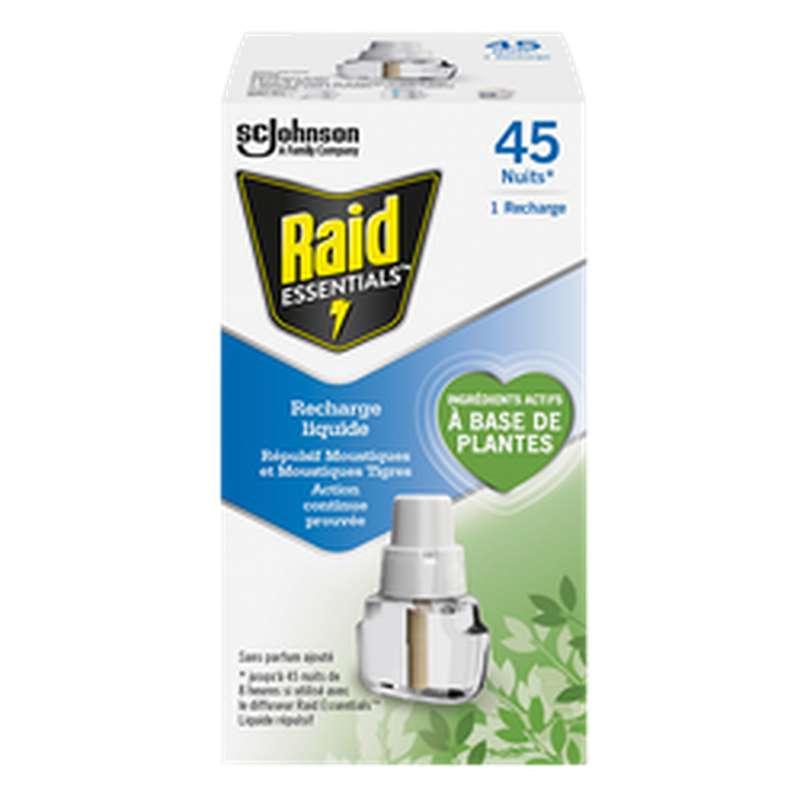 Recharge liquide anti-moustiques, Raid Essentials (45 nuits)