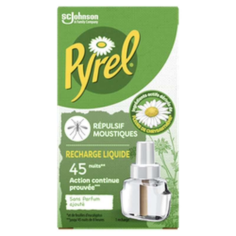 Recharge liquide anti-moustiques, Pyrel (45 nuits)