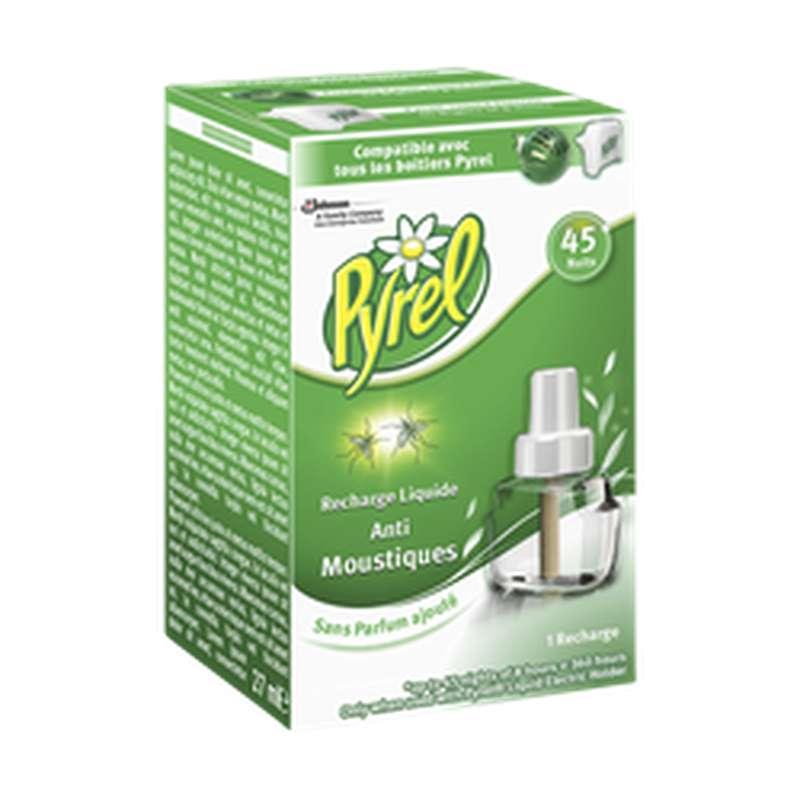 Recharge liquide pour diffuseur électrique anti-moustiques, Pyrel (45 nuits)