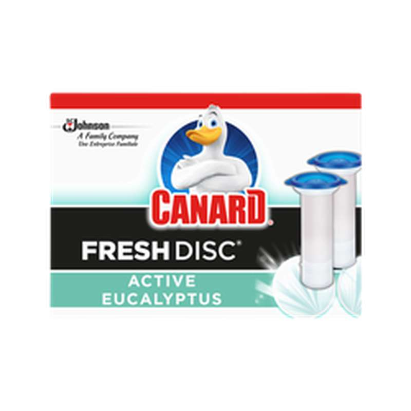 Recharge Fresh Disc Eucalyptuse, Canard (x2)