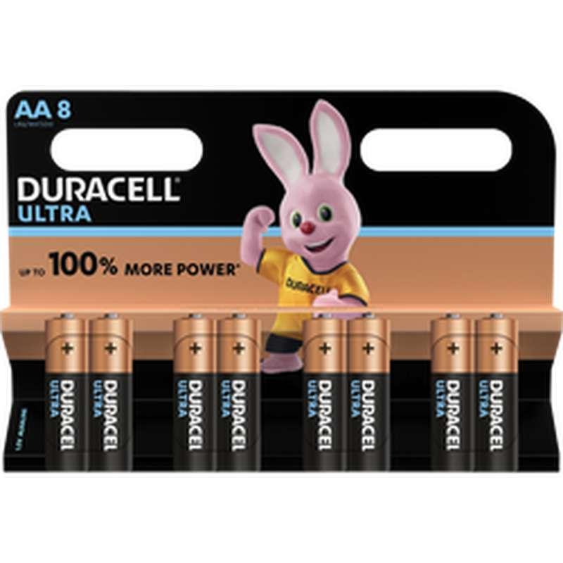 Piles AA/LR6 Ultra Power, Duracell (x 8)