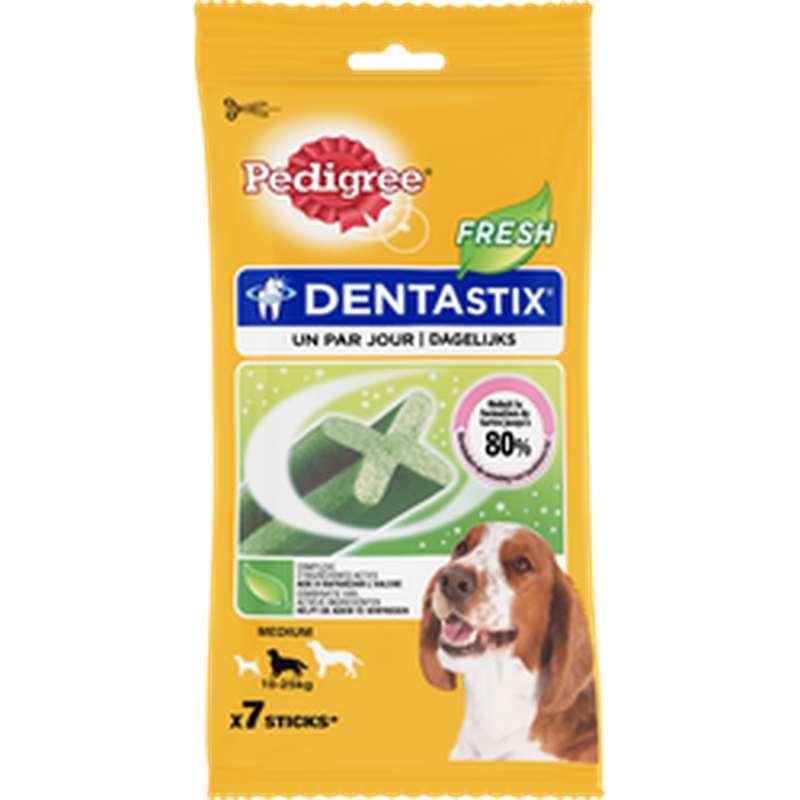 Dentastix Fresh pour chiens moyens, Pedigree (x 7, 180 g)