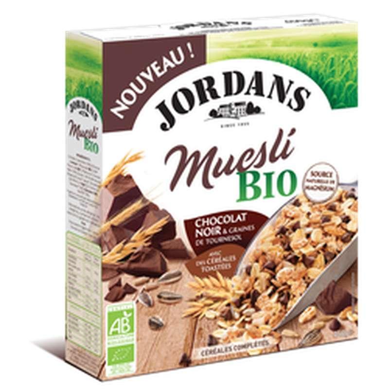 Céréales complètes muesli chocolat noir BIO, Jordans (450 g)