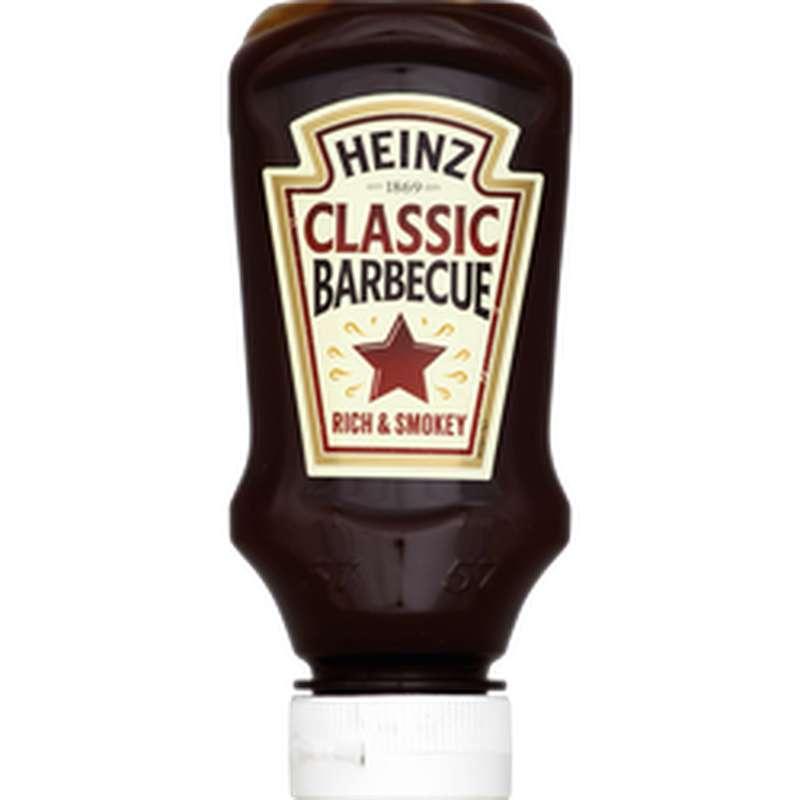 Sauce barbecue classic, Heinz (220 ml)