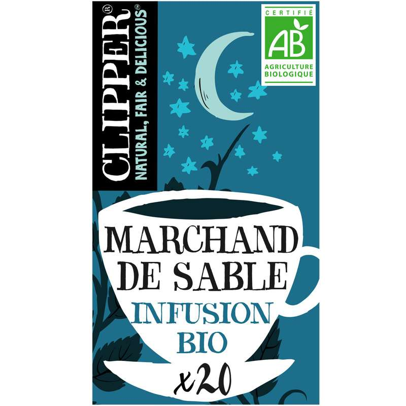 Infusion Marchand de sable BIO, Clipper (30 g)