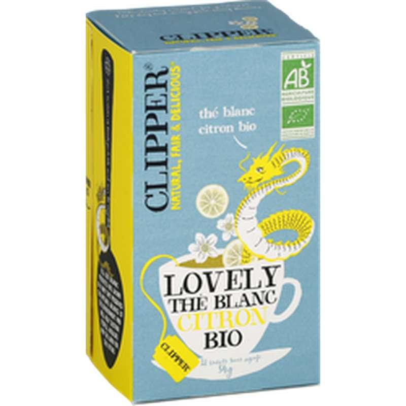 Thé blanc citron BIO, Clipper (34 g)