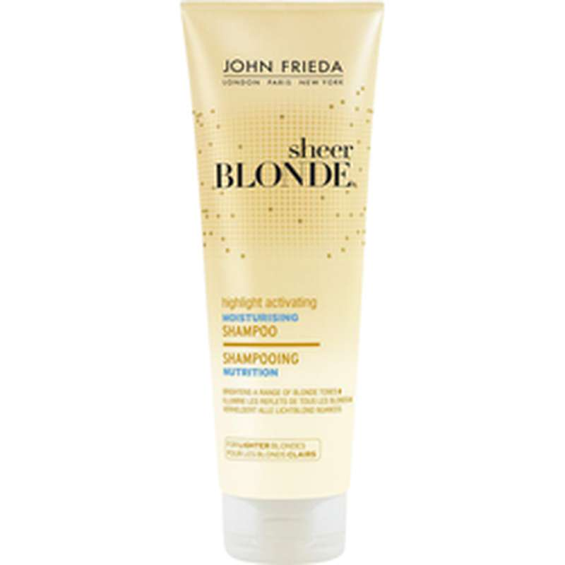 Shampoing nutrition activateur de reflets blondes clairs, John Frieda (250 ml)