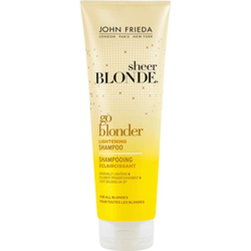 Shampoing éclaircissant Go Blonder, John Frieda (250 ml)