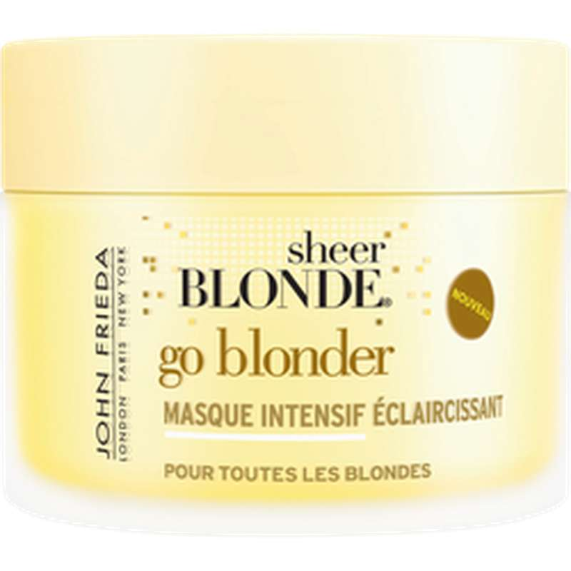 Masque intensif éclaircissant Go Blonder, John Frieda (250 ml)
