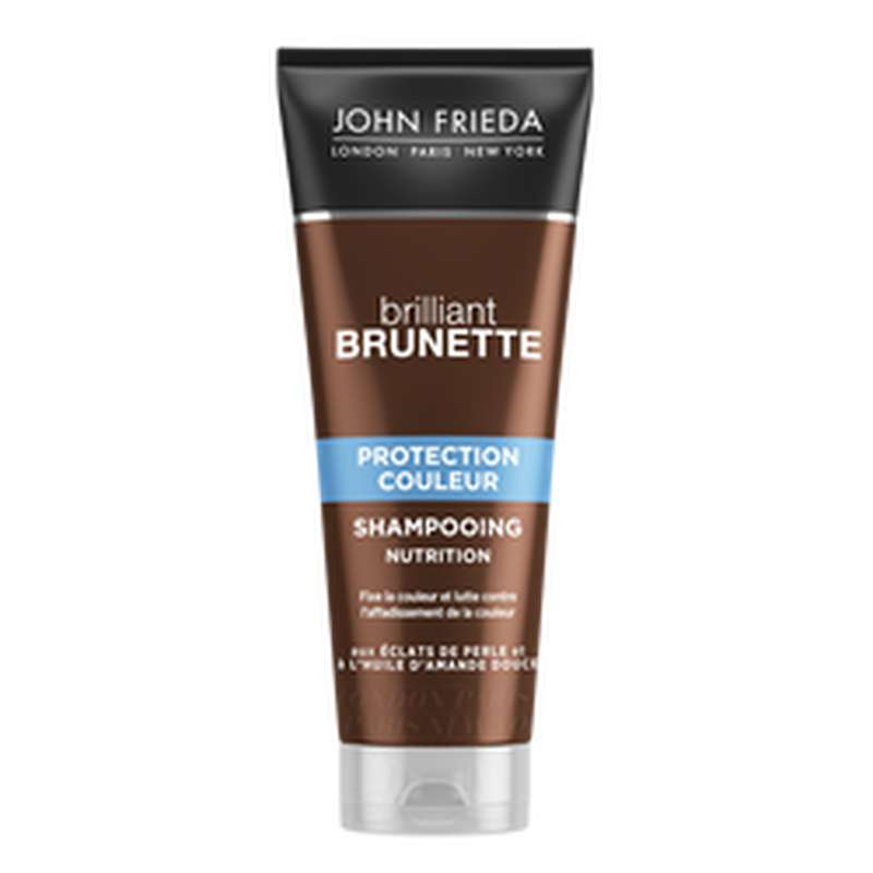Shampoing brilance brunette protection, John Frieda (250 ml)