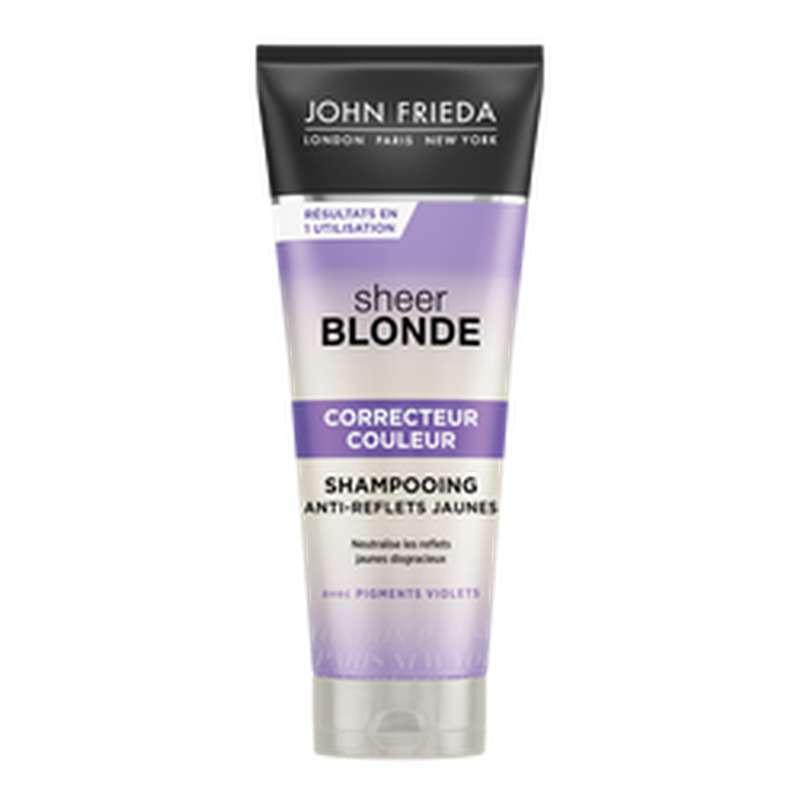 Shampoing correcteur couleur blonde, John Frieda (250 ml)