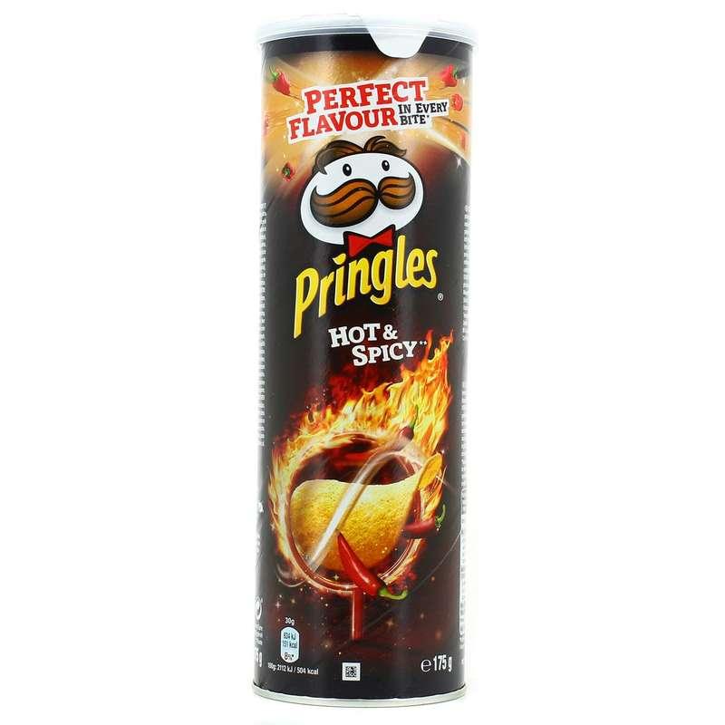Pringles Hot & Spicy (175 g)