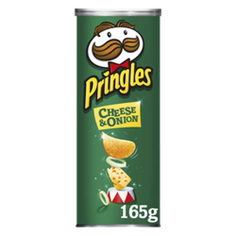 Chips Pringles au goût Cheese & onion (165 g)