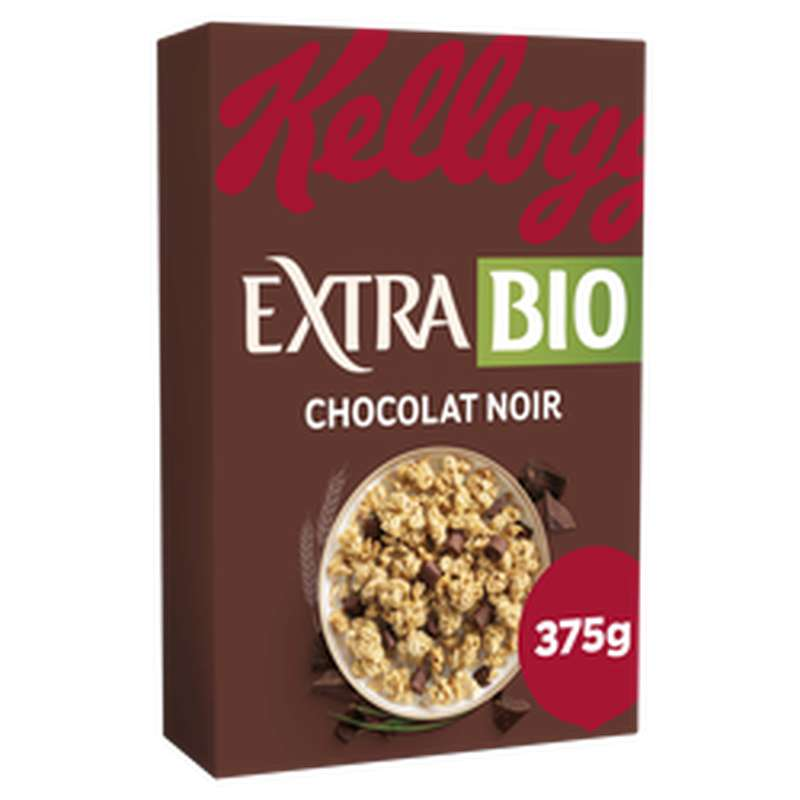 Extra chocolat noir, Kellogg's (375 g)