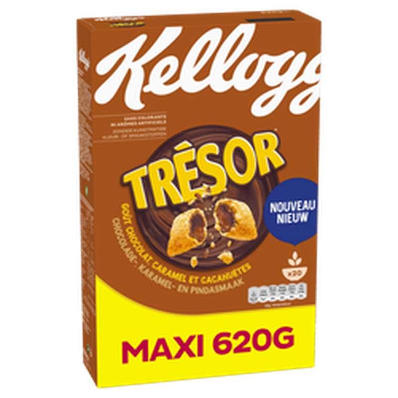 Céréales trésor choco caramel & peanut, Kellogg's (620 g)