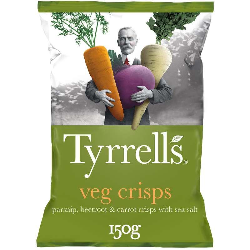Chips veg crisps légumes, Tyrrell's (150 g)