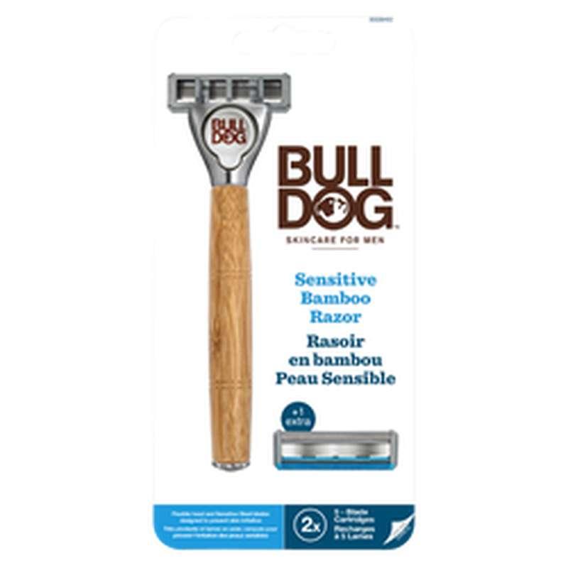 Rasoir Sensitive en bambou, Bulldog (x 1)