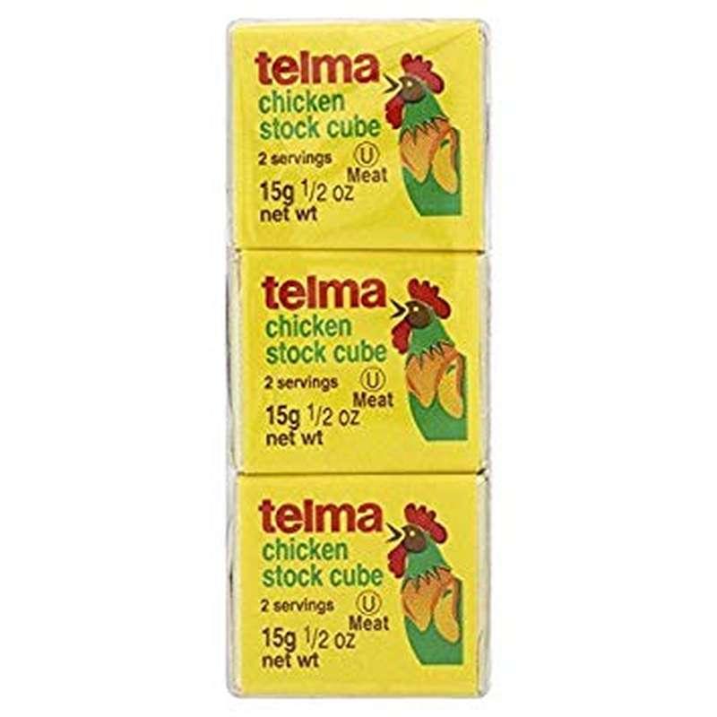 Cubes de poulet, Telma (3 x 15 g)