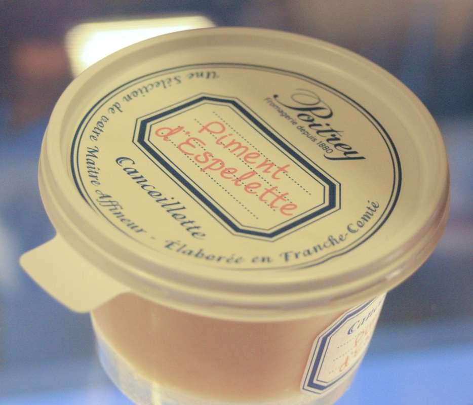 Cancoillotte piment d'Espelette, Poitrey La Belle Etoile (200 g)