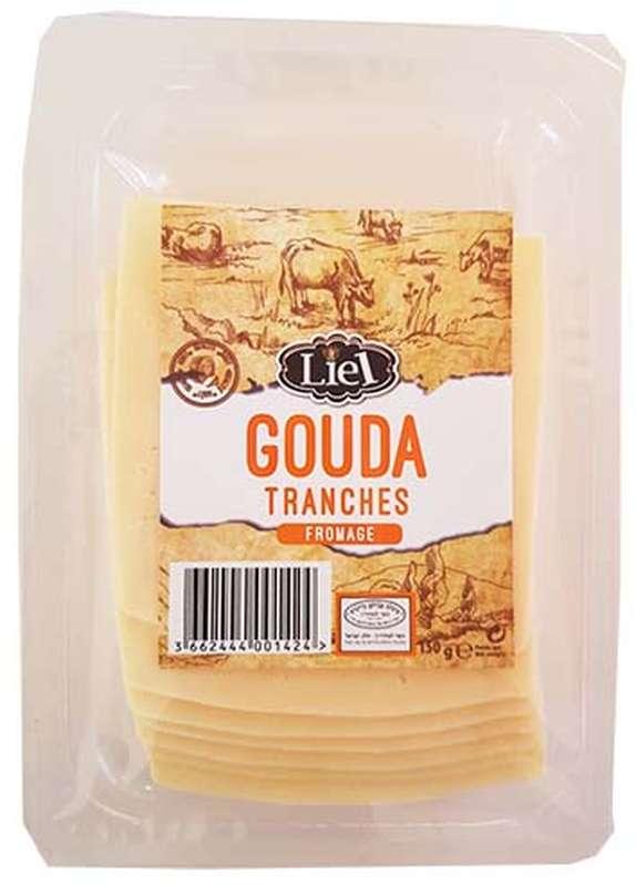 Gouda tranché, Liel (x 8, 150 g)